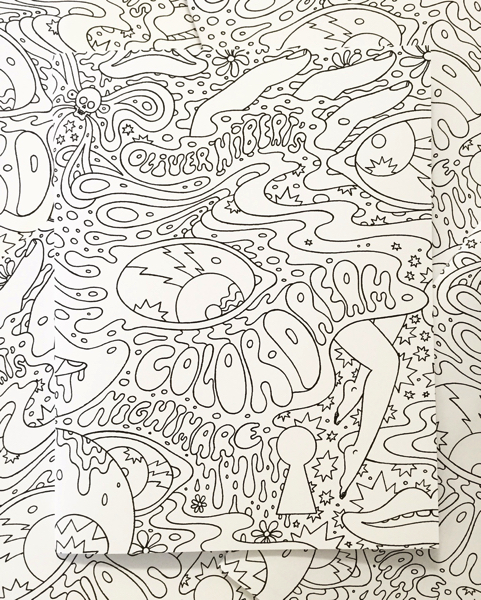 Oliver Hibert's Color Dream Nightmare